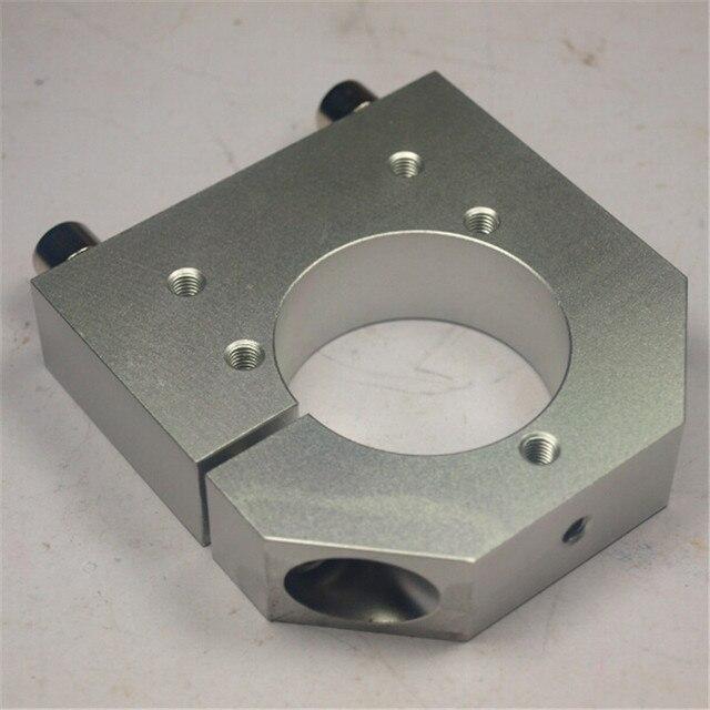 حامل محور الدوران 43 مللي متر لأجزاء ماكينة الطحن بالتحكم الرقمي بالكمبيوتر من سبائك الألومنيوم