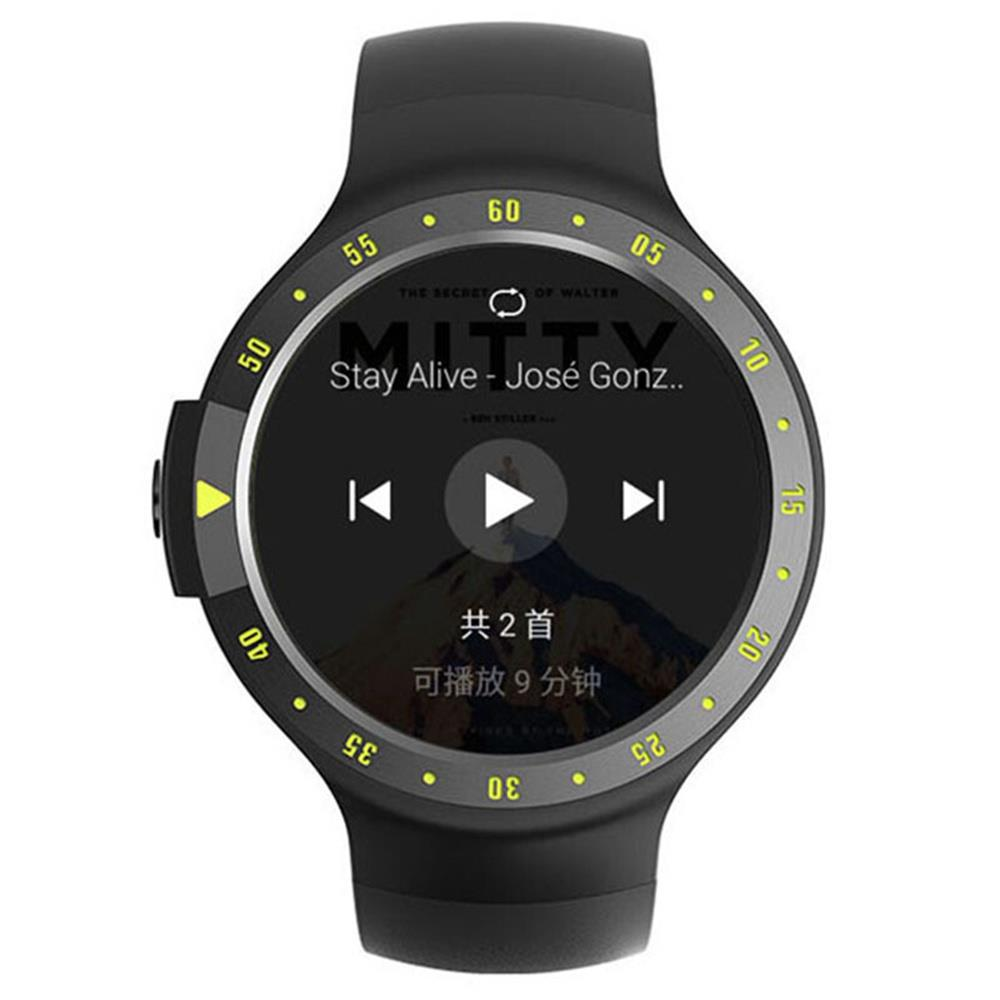 Original Ticwatch S Sports Smartwatch 1.4 OLED Display Dual Core MTK 2601 Android Wear Bluetooth Music GPS WIFI IP67 Waterproof