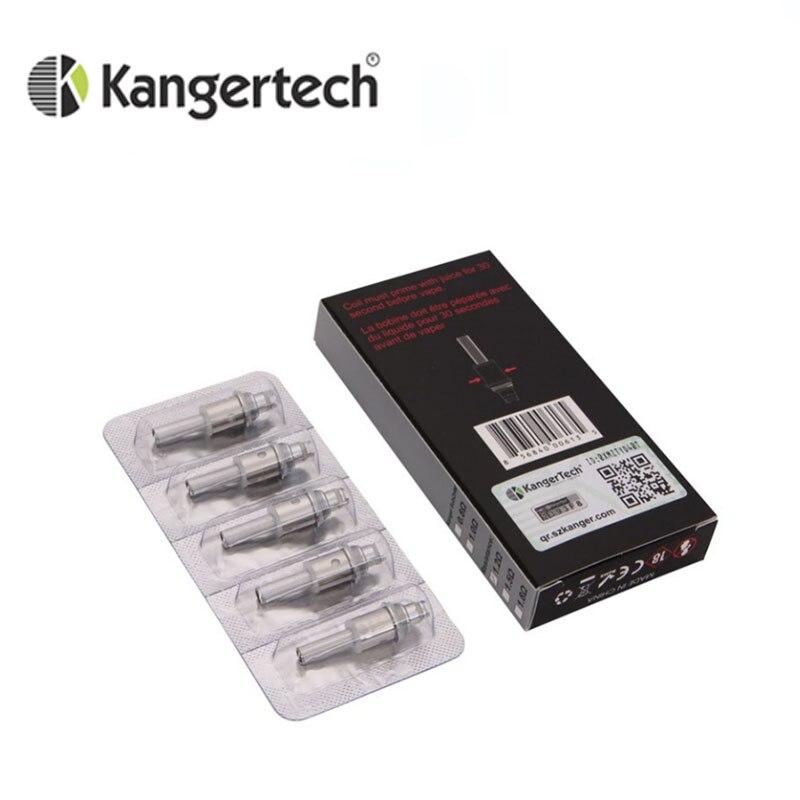 5pcs/lot  Kangertech VOCC-T Unit Upgraded Dual Organic Cotton VOCC Coils For Aerotank /Protank 3/EVOD 2/Toptank Evod