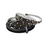5M 5050 SMD Non Waterproof WS2801 LED Strip Led 5v 32leds M 160 Leds 12mm PCB