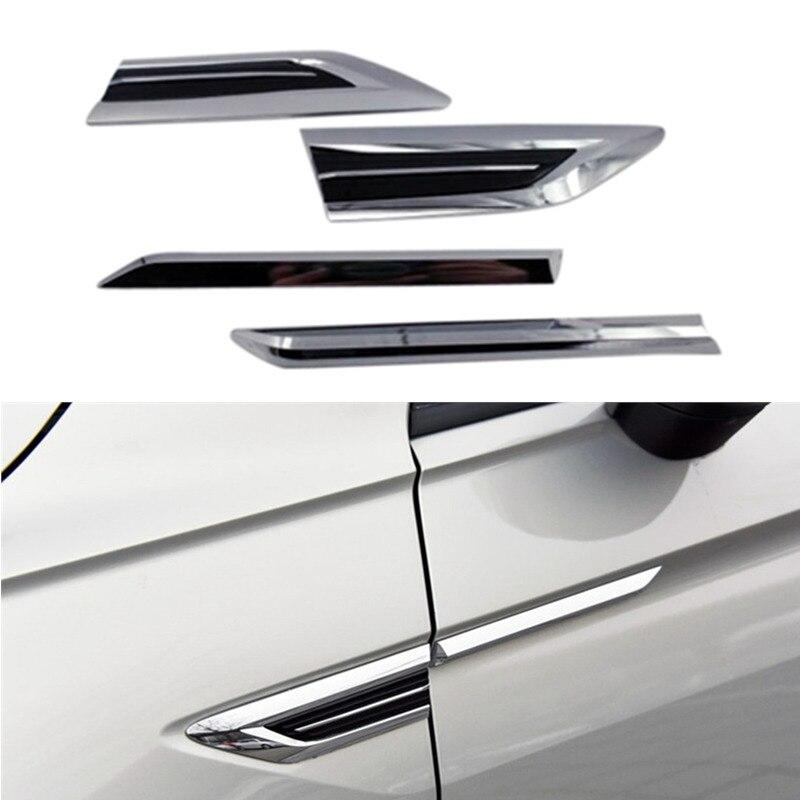 Fit for Volkswagen Tiguan Second Generation 2017 2018 2019 Door Side Air Vent Wing Fender Emblem Badge sticker Trim 2pcs