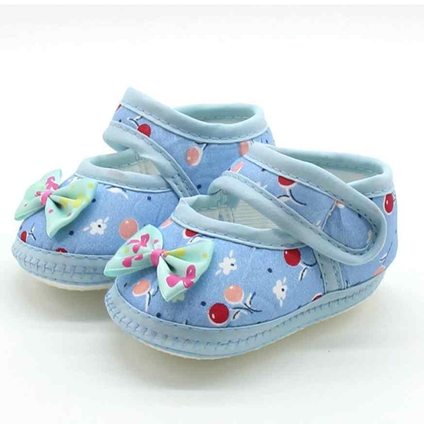 ראשון ווקר יילוד תינוק קשת בנות רך Sole Prewalker חם מקרית דירות נעלי פרינג 'רך סוליות נעלי החלקה נעלי עריסה