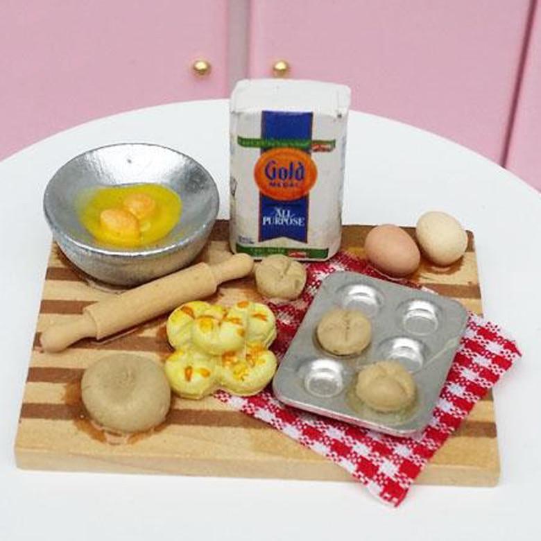 Cuisine vaisselle poupée accessoires pour Barbie poupées jouets filles bébé jouer poupée maison jouets