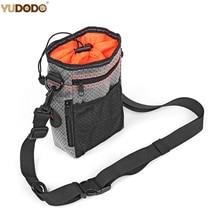 Multi-function Portable Dog Treat Bag Reflective Pet Outdoor Training Aid Bag Poop Bag Food Holder With Adjustable Waist Belt