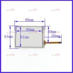Zhiyusun 88 мм * 64 мм дюймов 4056 сенсорный экран Стекло для коллектора сенсорный экран этот is3.5 дюймовый 4 провода резистивный сенсорный панель