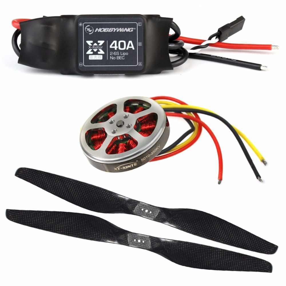 DIY аксессуар ZD850 рамки комплект с шасси + 5 В 1 Амортизатор бесщеточный двигатель Пропеллер ESC для RC FPV системы Drone Hexacopter
