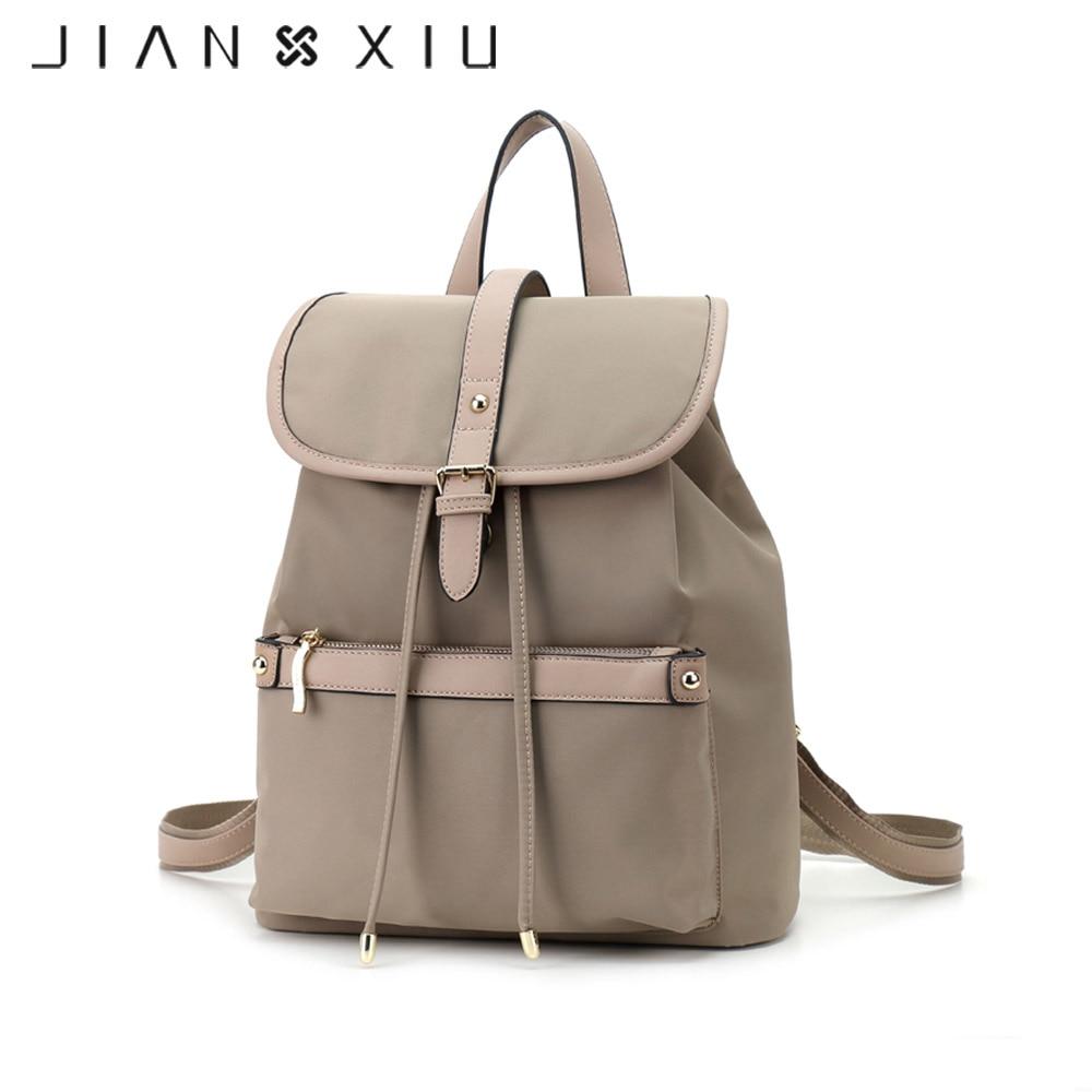 JIANXIU Fashion Backpack Women Bag Mochilas School Bags Oxford Backpacks Travel Mochilas Mujer Ultra light Waterproof