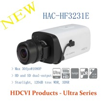 DAHUA CCTV Security Camera 2MP FULL HD Starlight HDCVI Box Camera Without Logo HAC-HF3231E
