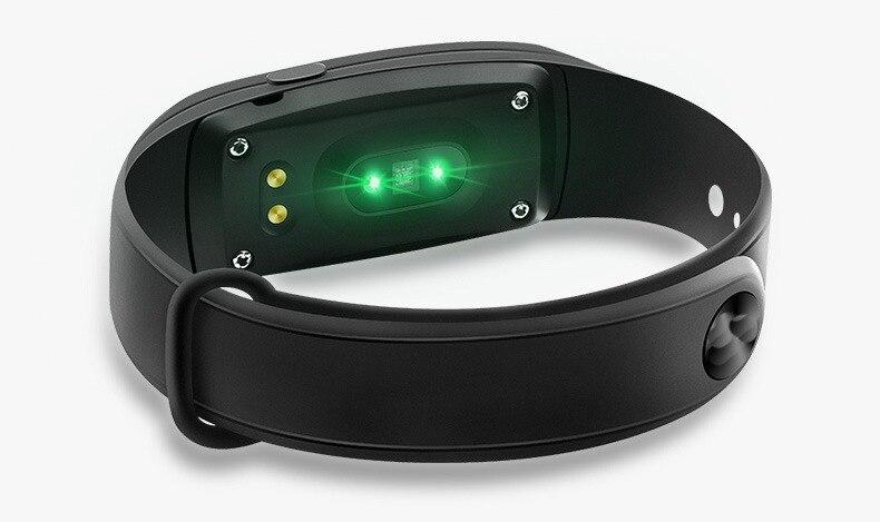Bracelet de moniteur de pression artérielle intelligent fréquence cardiaque sommeil Fitness santé Sport Bracelet Bracelet Fitbits Smartband bras étanche - 2