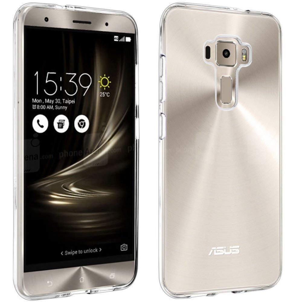 ZE520KL Z017D Case Soft Silicone Back Cover Clear Case For 5.2