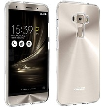 ZE520KL Z017D Case Soft Silicone Back Cover Clear Case