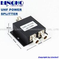 Free Shipping 2 Way 450MHz Micro Strip Power Splitter 400 500MHz UHF Two Way Radio Divider