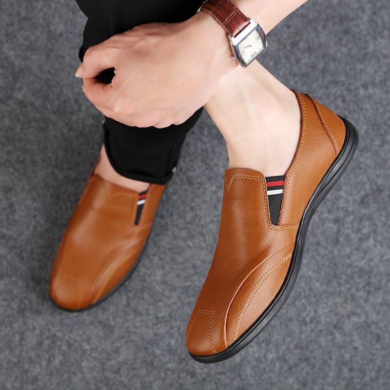 2018 nouveau style casual chaussures mocassins respirant jeunesse - Chaussures pour hommes - Photo 5