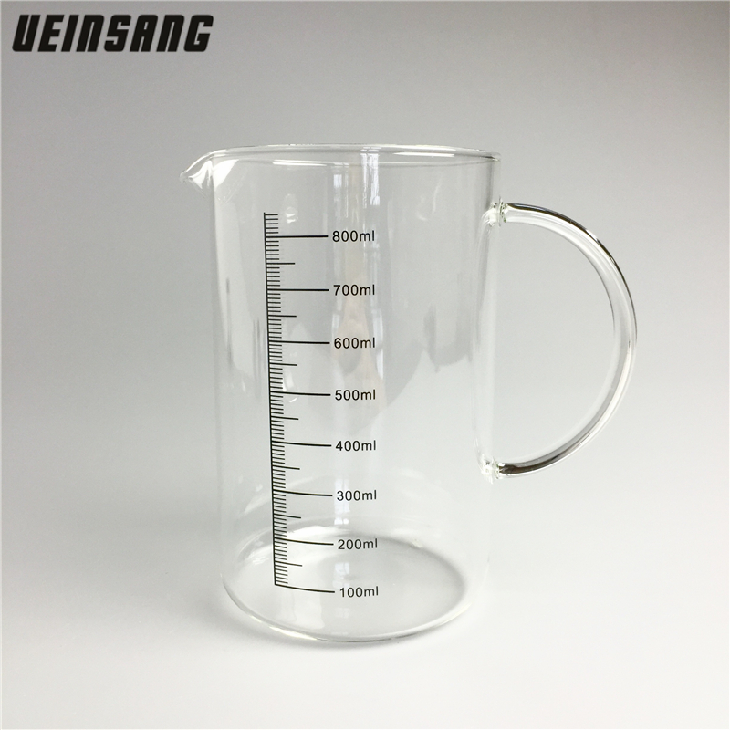Quantity For Measuring Instruments : Ml heat resistant glass measuring cups large capacity