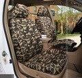 Productos personalizados 5 unids/set cubierta de asiento de coche 2016 auto suministro de temporada de verano cubierta de asiento de coche de lino material especial cojín