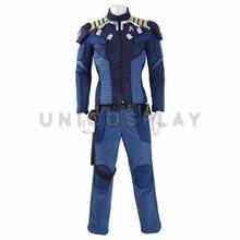 Star Trek Beyond Captain Kirk Cosplay Costume Commander Battle Suit Halloween Uniforms For Man Adult