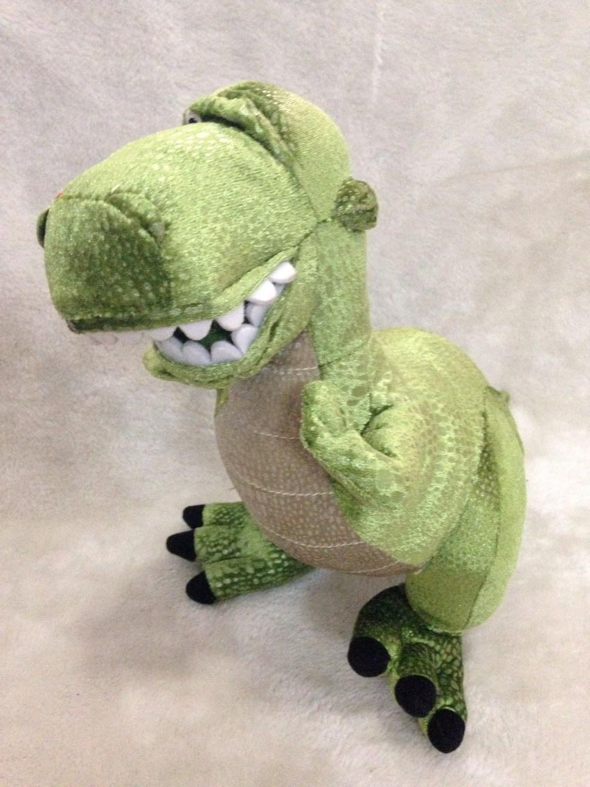 Toy Story Rex Plush Dinosaur Plush Toys 29cm In Movies Tv From