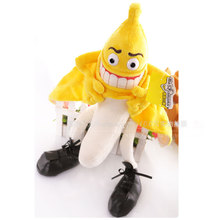 evil Banana person MR banana plush toy whimsy creative doll birthday gift about 55cm