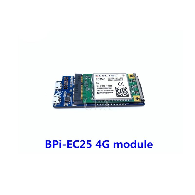 Banana pi Bpi-EC25 4G Full-Netcom wireless communication module for BPI R2 free shipping original banana pi accessories bpi uart expand module uart extend board
