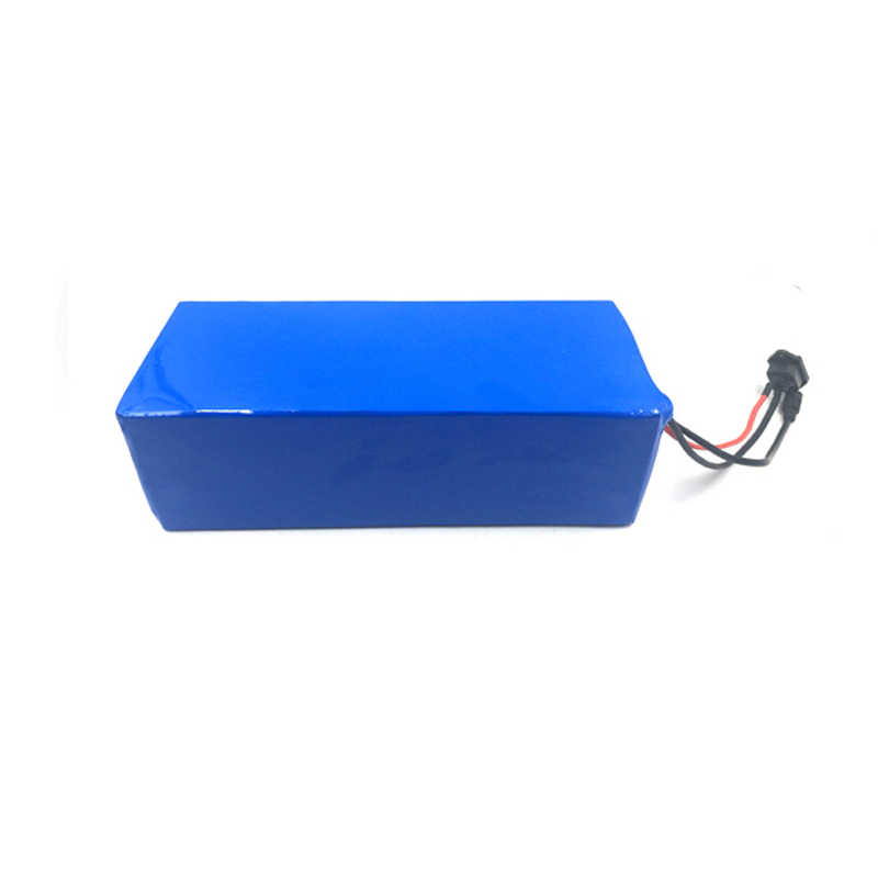 Deep cycle lifepo4 battery pack 72V 30Ah for electric mountain bike for EV BMS included with 4A charger
