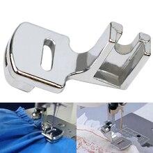 Прочный практичный для домашнего использования легко установить свернутый подол швейная машина использовать геммер нержавеющая сталь Лапка