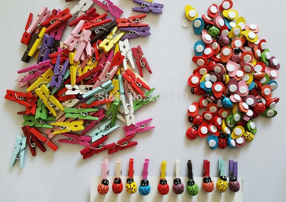 Crayon Pencil Buttons Button 25mm 2 Hole Novelty