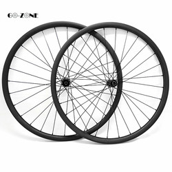 29 pouces montagne disque carbone roues XC 32x28mm tubeless vélo cerceau 29 Novatec D411SB D412SB 100x15 142x12 vtt carbone roues