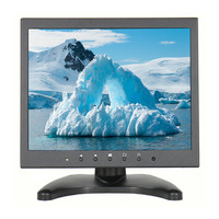 9.7 Inch IPS LCD HD Monitor Portable Touchscreen Monitor with HDMI & VGA video inputs