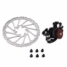 Wholesale prices Hgih Quality BB7 MTB Bike Brakes Disc Caliper Mechanical Front Wheel 160mm Rotor New