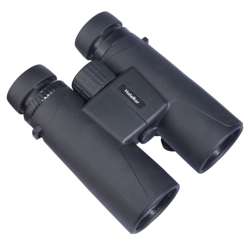 HD 10x42 high definition optical lens high power magnification zoom portable long range binoculars telescope for travel hunting clip on 8x zoom optical telescope camera lens universal for smartphone
