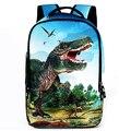 2016 Fashion Animal Backpack 3D Dinosaur School Backpacks for Children Men Tourism Bag Women Leopard Backbag