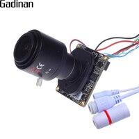 1080 P 2.0MP Rede H.265 Hi3516CV300 mini Placa Da Câmera IP ONVIF 2.8-12mm Manual de Lente Zoom Varifocal Plug e Jogar com IR-CUT