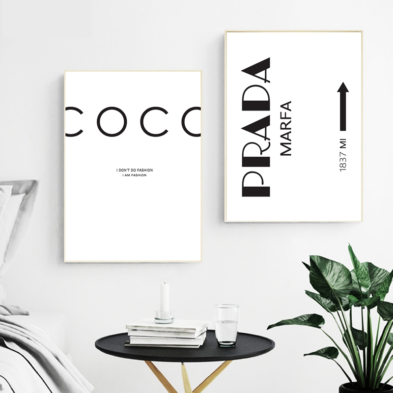 Scandinavian Decor I Don't Do Fashion Nordic Art Decor Posters And Prints Wall Pictures For Living Room Wall Art Canvas Prints