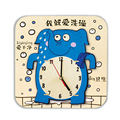Wooden 3D Puzzles Fancy Assembly Model Decoration Creative Wooden DIY Cartoon Wall Clock