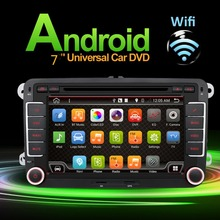 Auto Quad Core Android 4.4 Car DVD Capacitive Screen For VW Golf 5 6 Passat Jetta Tiguan Touran Polo SKODA Octavia SEAT Altea