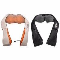 U Shape Electrical Back Neck Shoulder Body Massager Infrared Heated Kneading Car Home Massagerr Multifunctional Shawl hot