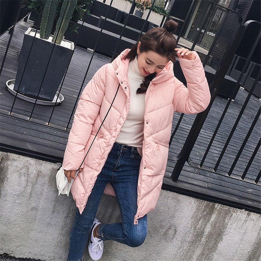 À Hiver Capuche Nouveau D'hiver Chaud As as Coton 2018 Rembourré Veste Femme Femmes Picture Picture Manteau Long Vers Femelle Le Parkas Bas Épais Down FSS5q