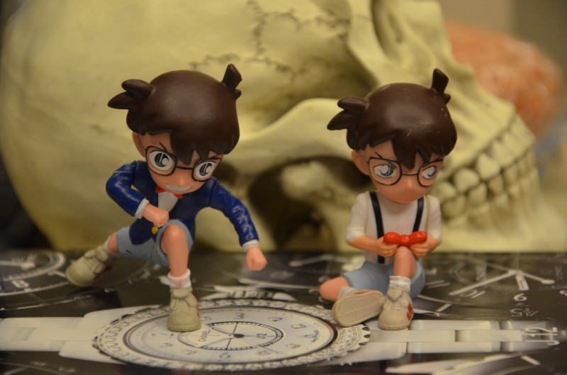 pvc  figure  coonan  Japan cartoon character  2pcs