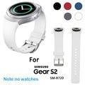 Cinta faixa de relógio pulseira de luxo tpu silicone para samsung galaxy engrenagem S2 Homens Relógio Pulseira Hot sale Feida 1:1 Originais projeto