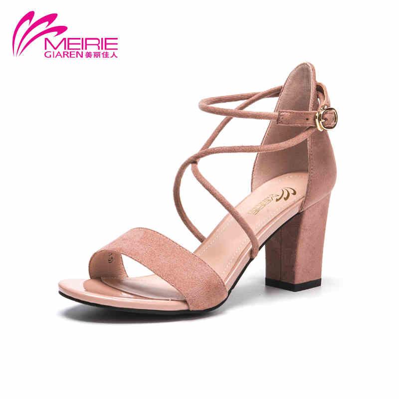 MeiRieS 2017 Women Summer Shoes Fashion Summer Women S Sandals Women High Heels Shoes Free Shipping