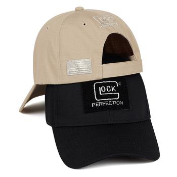 2019 wybuch Glock strzelanie polowanie czapka z daszkiem moda bawełna czapki na zewnątrz wypoczynek parasol przeciwsłoneczny kapelusze regulowana czapka golfowa tanie i dobre opinie Dla dorosłych COTTON Unisex Na co dzień Regulowany Z162 Jeden rozmiar List