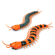 Infrared Electric RC Centipede Adult Antistress Fake Insect Remote Control Prank Funny Gadget Novelty Gag Toys for Children Gift