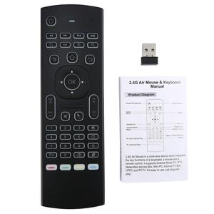 Image 3 - MX3 音声バックライトエアマウスT3 googleスマートリモコンir 2.4 2.4g rfワイヤレスキーボードX96 ミニH96 最大X2 プロアンドロイドテレビ