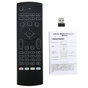 Image 3 - MX3 voice Backlit Air Mouse T3 Google Smart Remote Control IR 2.4G RF Wireless Keyboard For X96 mini H96 MAX X2 PRO Android TV