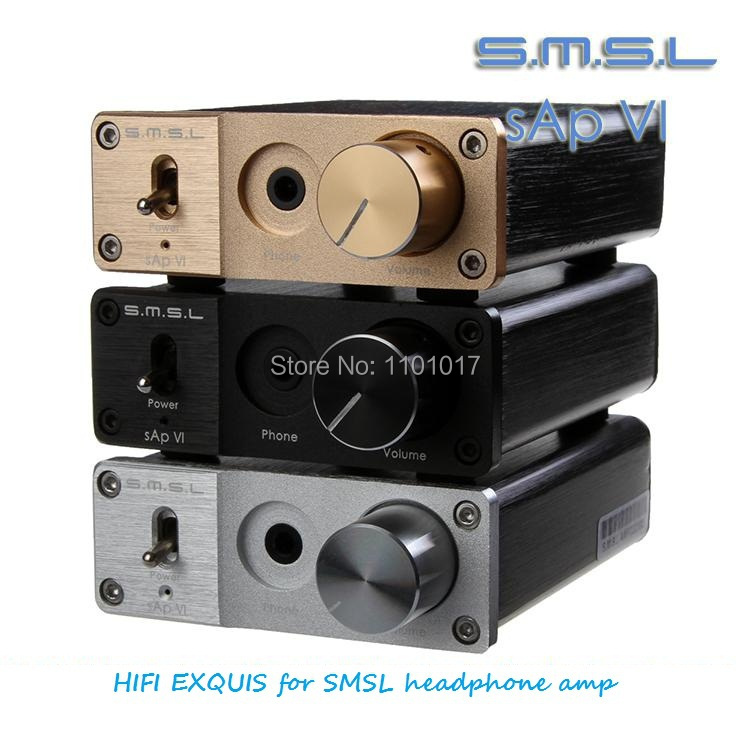 SMSL sAp-VI Headphone Amplifier HIFI EXQUIS Earphone Amp sAp VI vi 710761