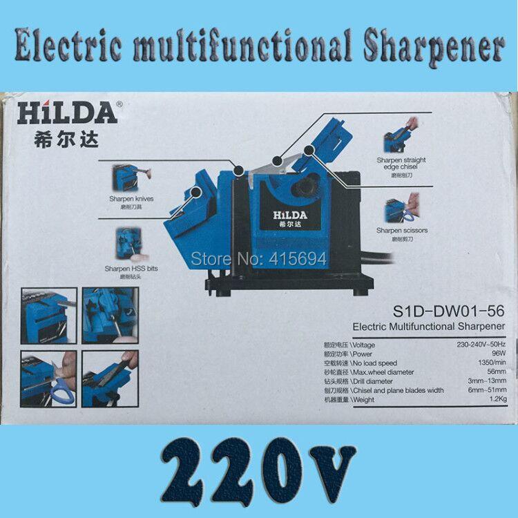 Affilacoltelli multifunzione UE e USA, affilacoltelli, affilatore elettrico anche per forbici, ferro da stiro.