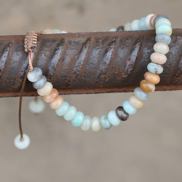 Amazonite Bracelet Etsy