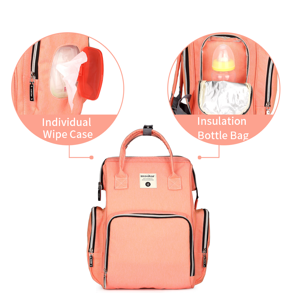 Insular Baby Changing Backpack in 8 colours