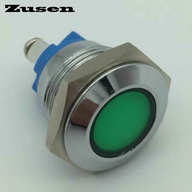 Zusen 16mm pilot lamp(GQ16-D/G/12V/N)