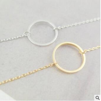 S 07 bijoux européens et américains du commerce extérieur bijoux de mode géométriques simples bracelet en métal femmes bijoux